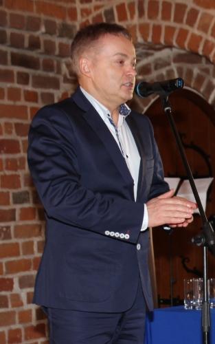 Przemawia Burmistrz Uniejowa Józef Kaczmarek